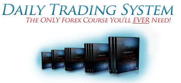 Simple daily forex trading system